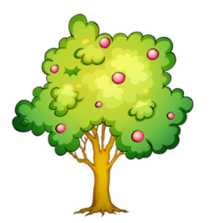 apple-fruit-tree-clipart