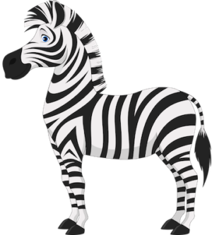 free_download_cute_zebra_cartoon_clipart_picture