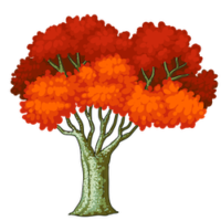 red-fall-tree-clipart