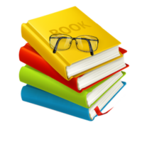 free_download_a_bundle_of_colorful_books_clipart