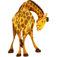 free_download_big_cartoon_giraffe_animal_clipart