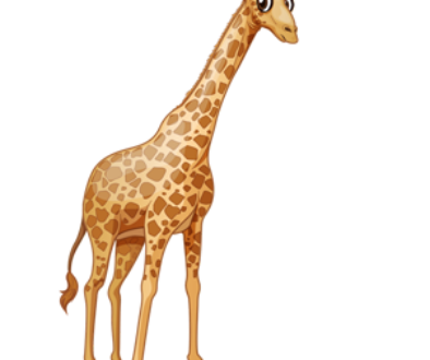 download_vector_big_eyes_giraffe_clipart_image