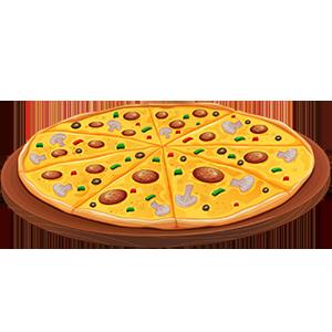 vector_large_non_veg_pizza_clipart_png