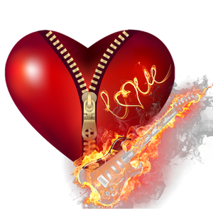 red_fire_heart_clipart
