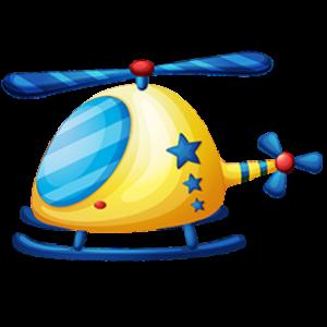 download-beautiful-cartoon-helicopeter-kids-clipart