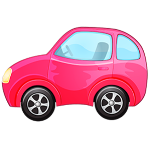 download-beautiful-pink-toy-car-kids-clipart