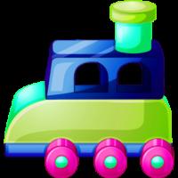 colorful-toy-cartoon-car-transparent-PNG