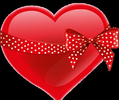 free-download-polka-dots-red-ribbon-heart