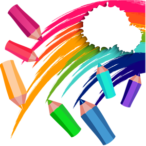 download-rainbow-pencil-colors-transparent-clipart-png