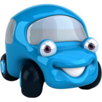 free-download-blue-cartoon-toy-car-vector-clipart