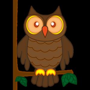 free-download-cartoon-cute-owl-animal-clipart