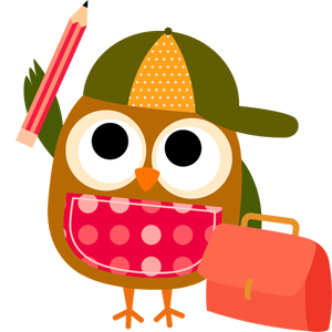 free-download-cute-cartoon-owl-school-clipart-PNG