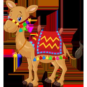 free-download-desert-safari-animal-camel-cartoon-clipart