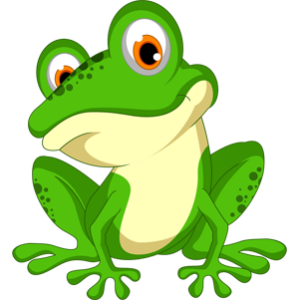 free-download-green-cute-frog-cartoon-animal-clipart