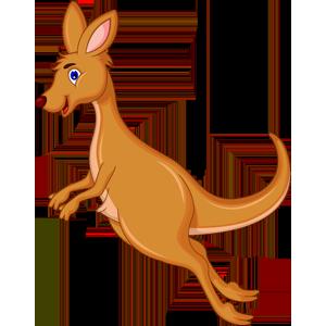 free-download-jumping-kangaroo-cute-animal-clipart