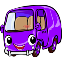 free-download-purple-cute-cartoon-bus-clipart