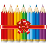 free-download-seven-color-pencil-bundle-transparent-clipart