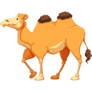 free-download-strong-desert-animal-camel-clipart
