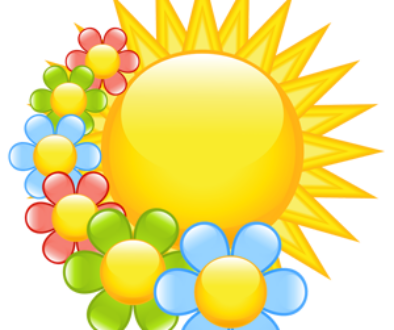 free-download-sun-and-flowers-cartoon-clipart-vector